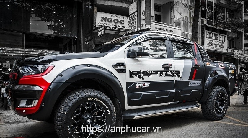 decal xe hoi raptor