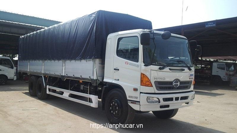 Hino tải 15 tấn dau xe