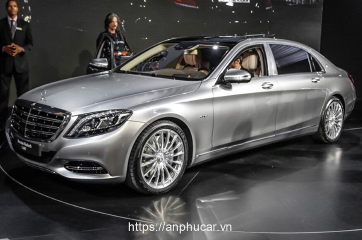 Mercedes Maybach S600 2020 hong xe