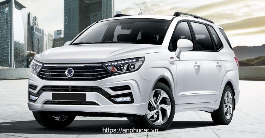Ssangyong Stavic dau xe