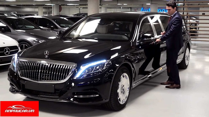 mercedes maybach s600 hong xe