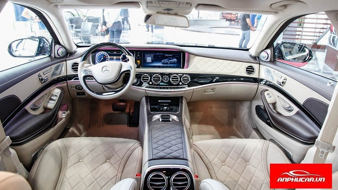 noi that mercedes maybach s600 sang trong