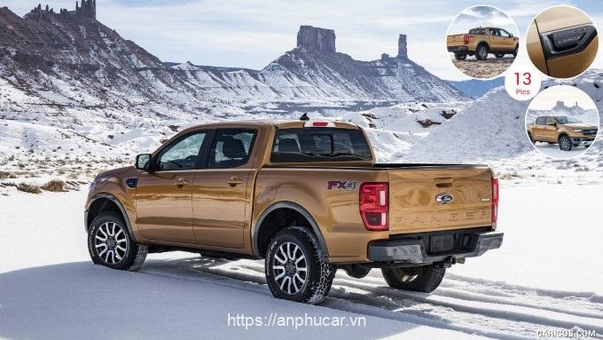 Ford Ranger Wildtrak duoi xe