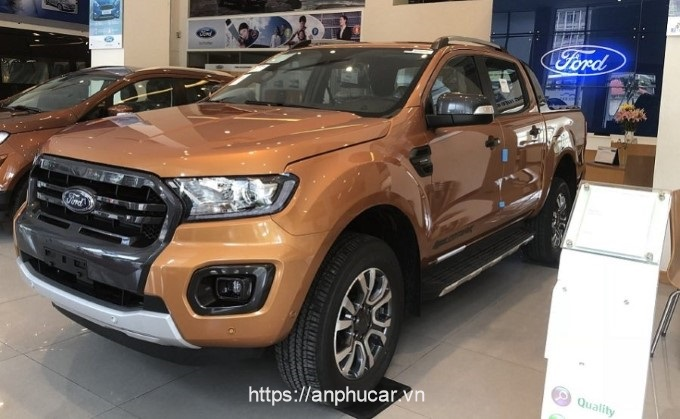 Ford Ranger Wildtrak tong quan