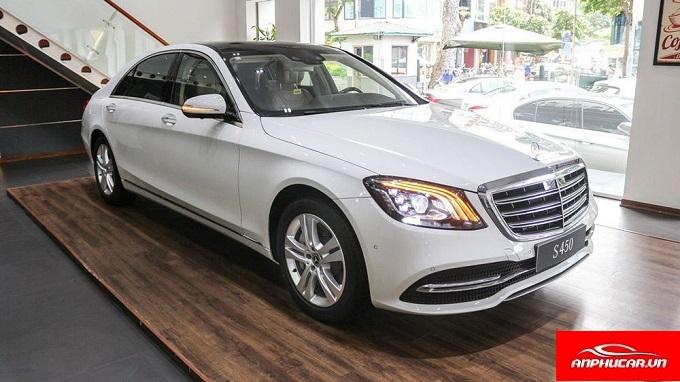 Mercedes S Class den xe