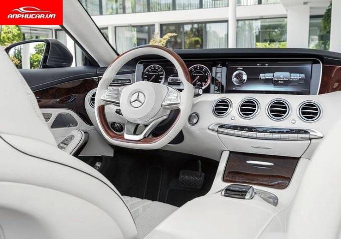 Mercedes S Class tien nghi