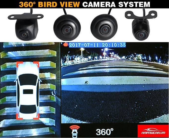 he thong camera 360 o to