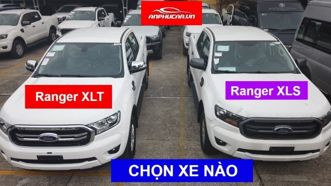 so sanh ford ranger xlt va xls