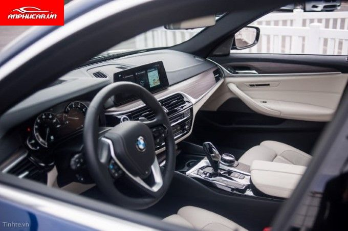bmw 5 series tien nghi