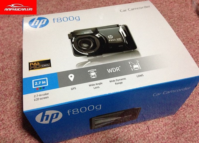 camera hanh trinh HP f800g full box