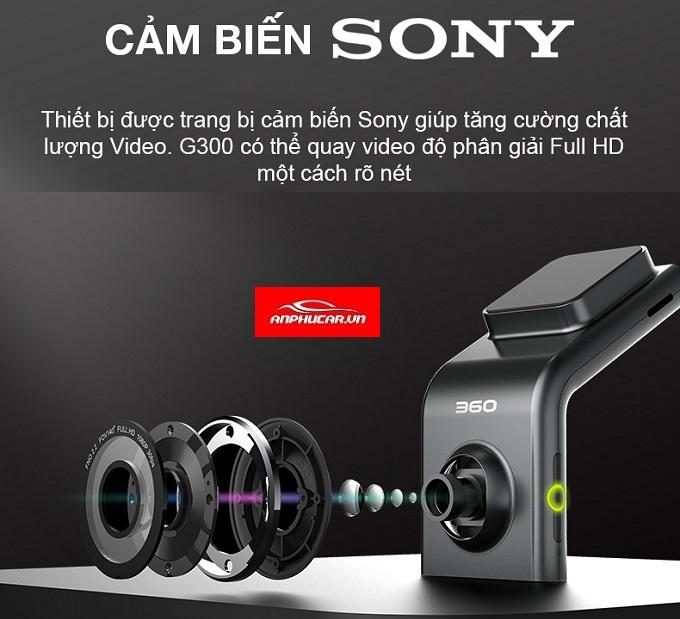 camera hanh trinh g300 cam bien sony