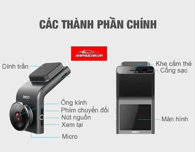 camera hanh trinh g300 thong so