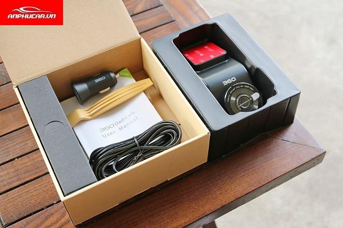 camera hanh trinh g300 thuc te