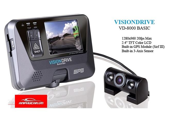 camera hanh trinh visiondrive 8000hds