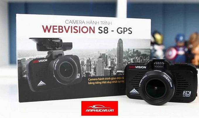 camera hanh trinh webvision full box