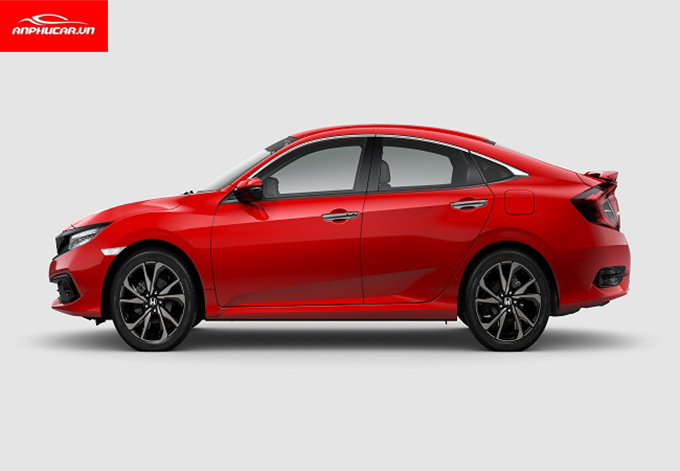 honda civic rs 2019 than xe