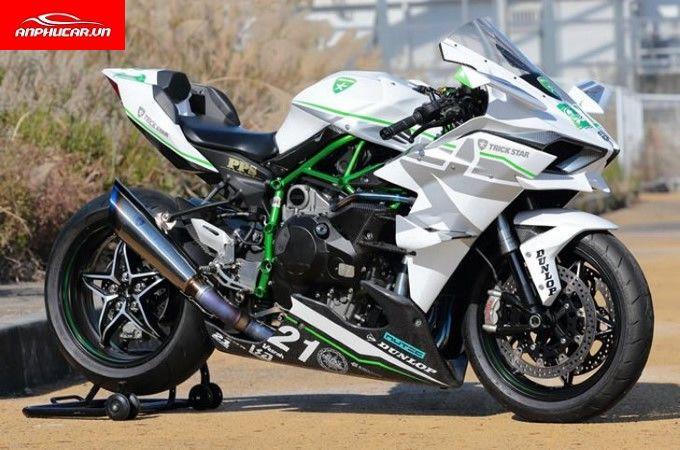 Kawasaki Ninja H2R than gio
