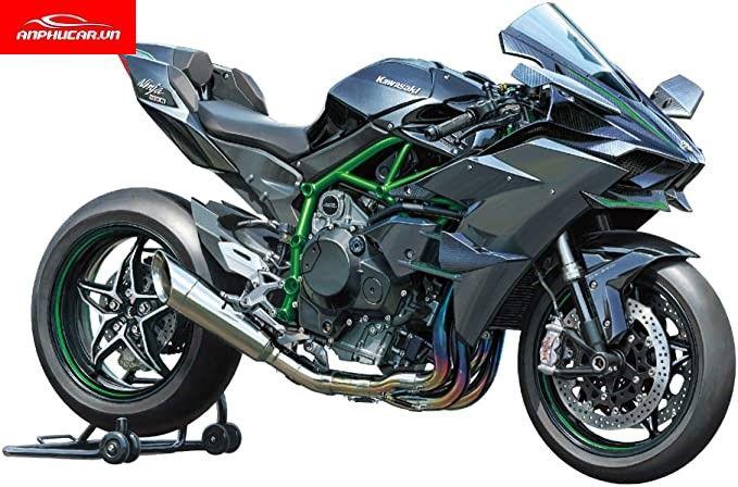 Kawasaki Ninja H2R than xe
