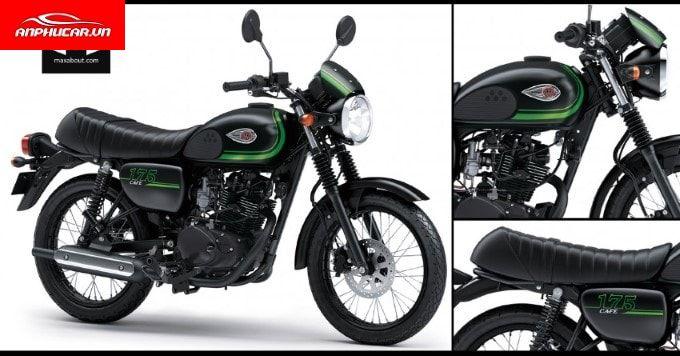 Kawasaki W250 ghe ngoi