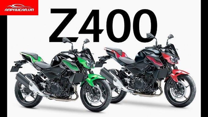 Kawasaki Z400 dau xe