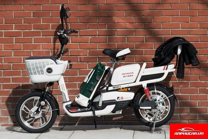 Xe May Dien Honda A6 Trang