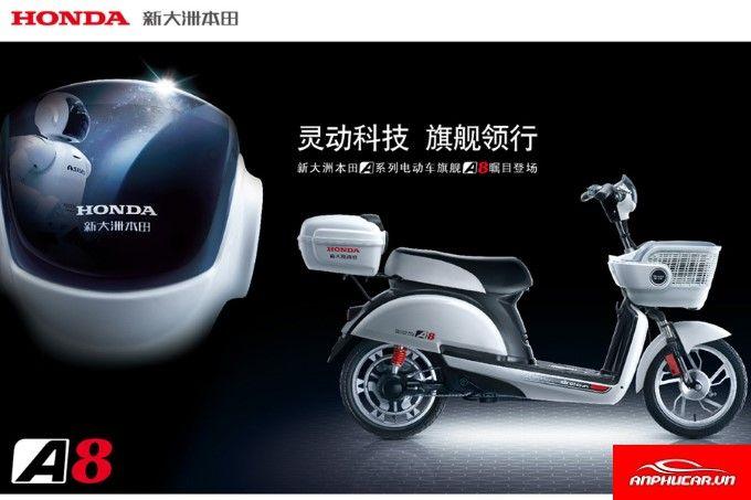 Xe May Dien Honda A8 Tong Quan