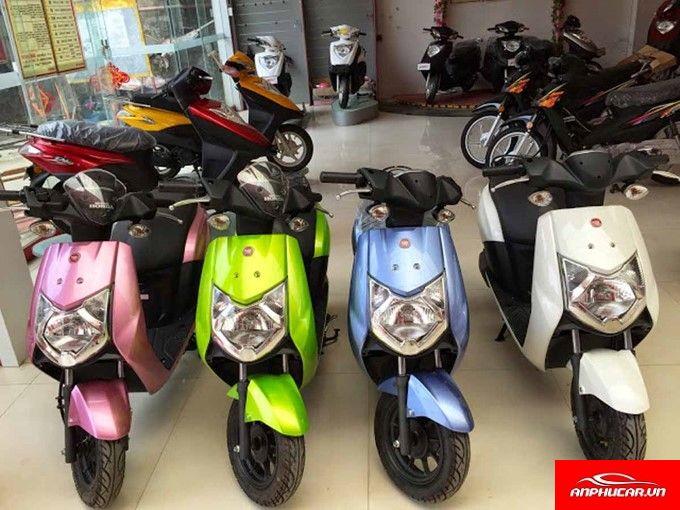 Xe May Dien Honda Nhieu Mau