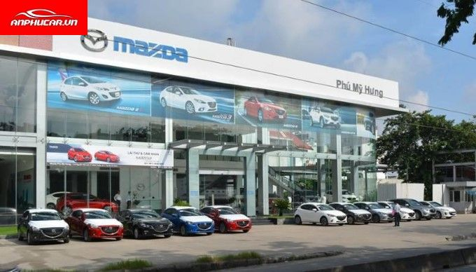 mazda phu my hung showroom