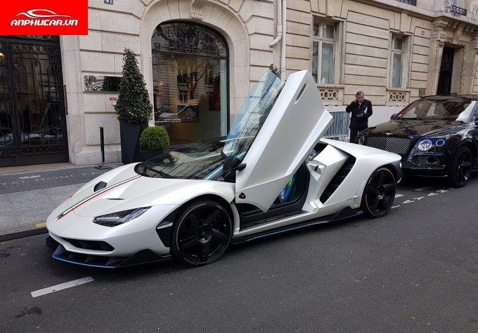 Lamborghini Centenario Cua Xe