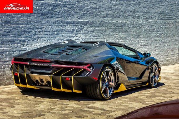 Lamborghini Centenario Duoi Xe