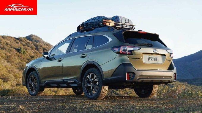 Subaru Outback Duoi Xe