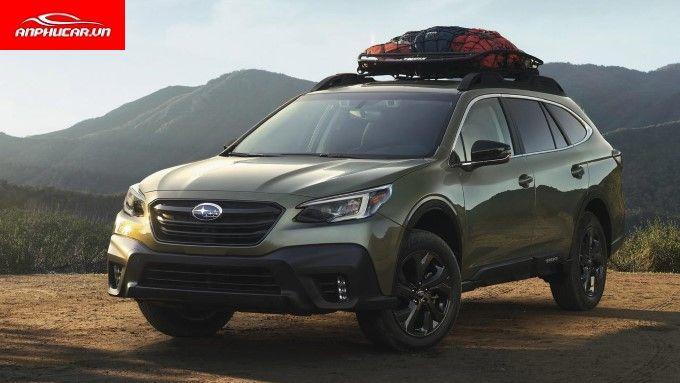 Subaru Outback Mau Xanh