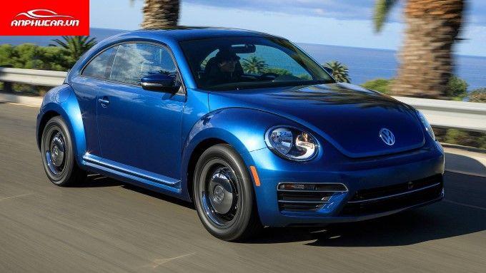 Volkswagen Beetle Mau Xanh