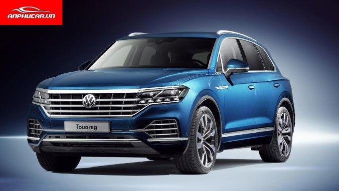 Volkswagen Touareg Mau Xanh